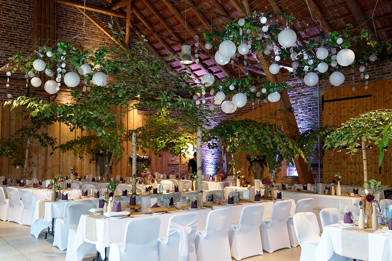 Hochzeitsdekoration atemberaubend
