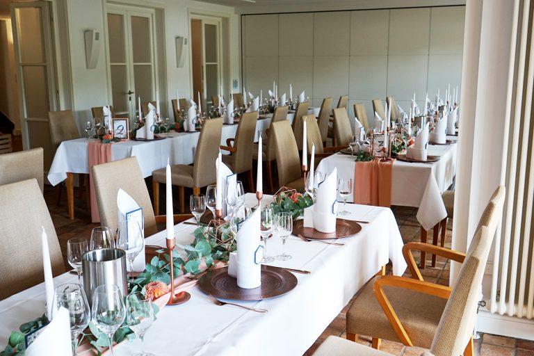 Seefugium Hannover, Tischdeko, Hochzeitsdeko