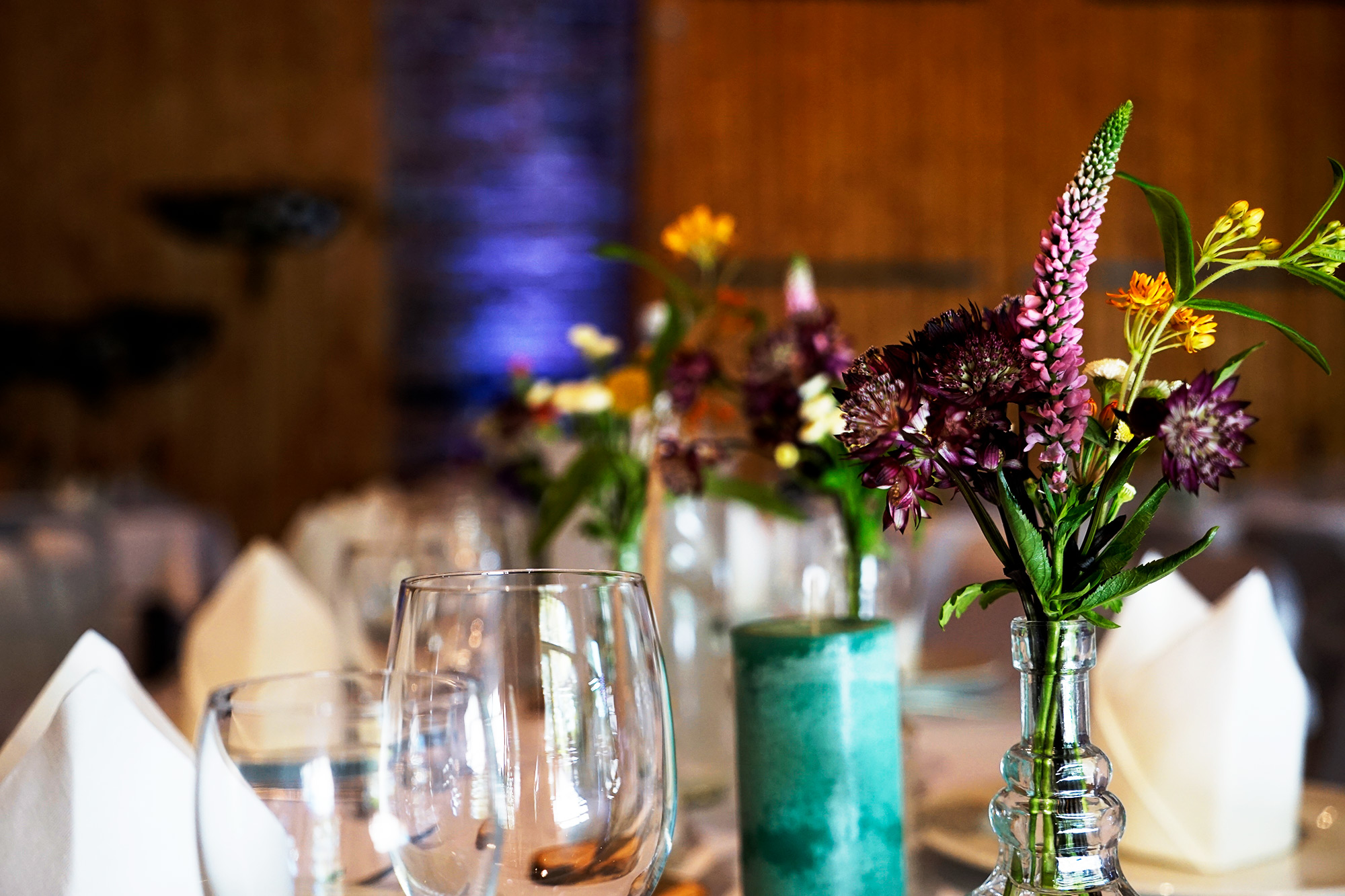 Flower Power Hochzeitsdekoration